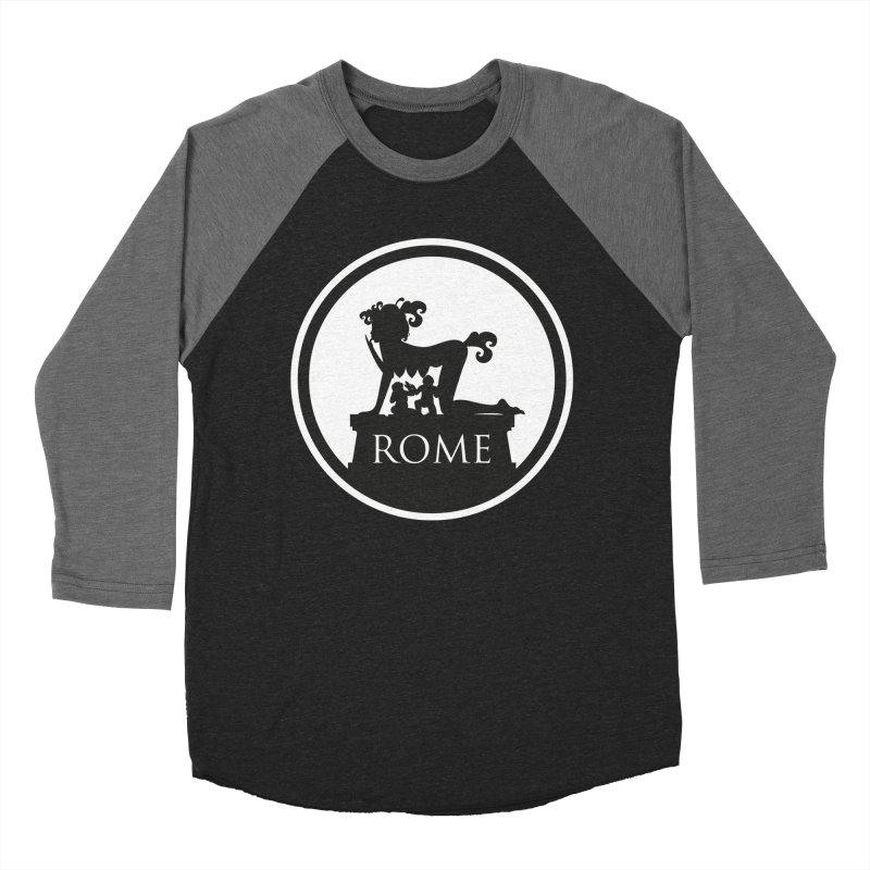 Mamma Roma Men's Baseball Triblend T-Shirt by DolceQ's Artist Shop