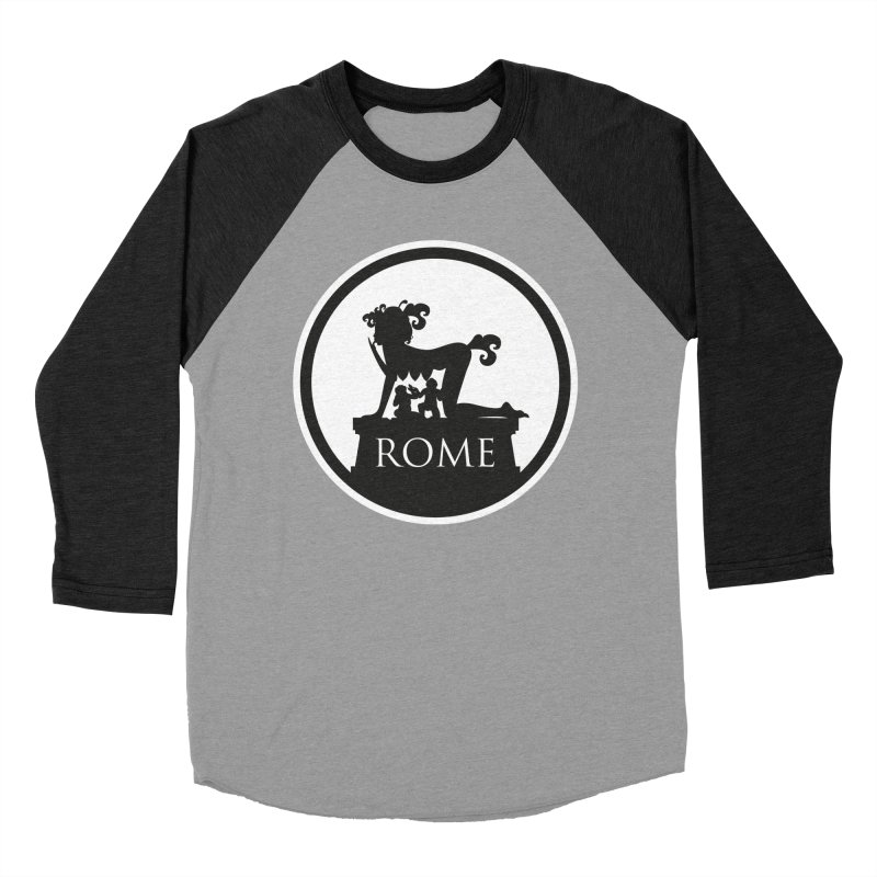 Mamma Roma Men's Baseball Triblend Longsleeve T-Shirt by DolceQ's Artist Shop