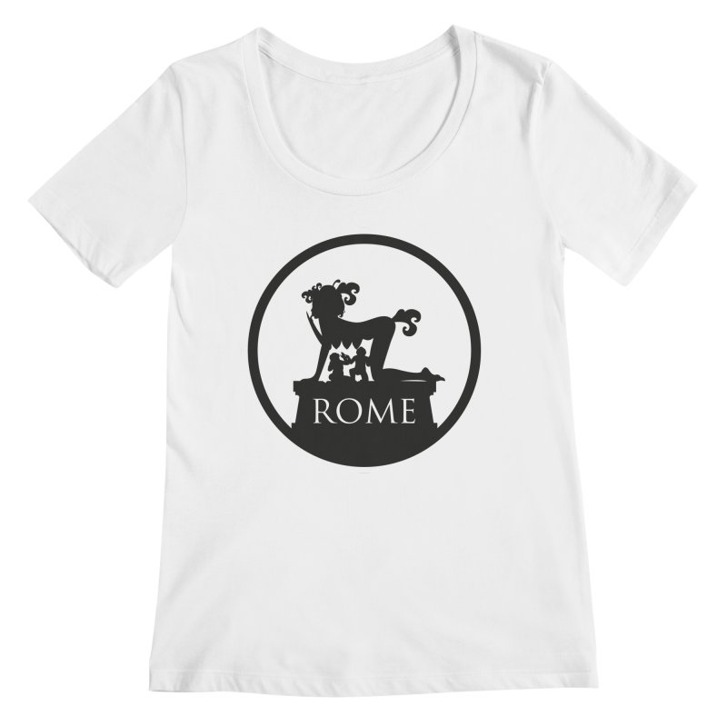 Mamma Roma Women's Scoopneck by DolceQ's Artist Shop