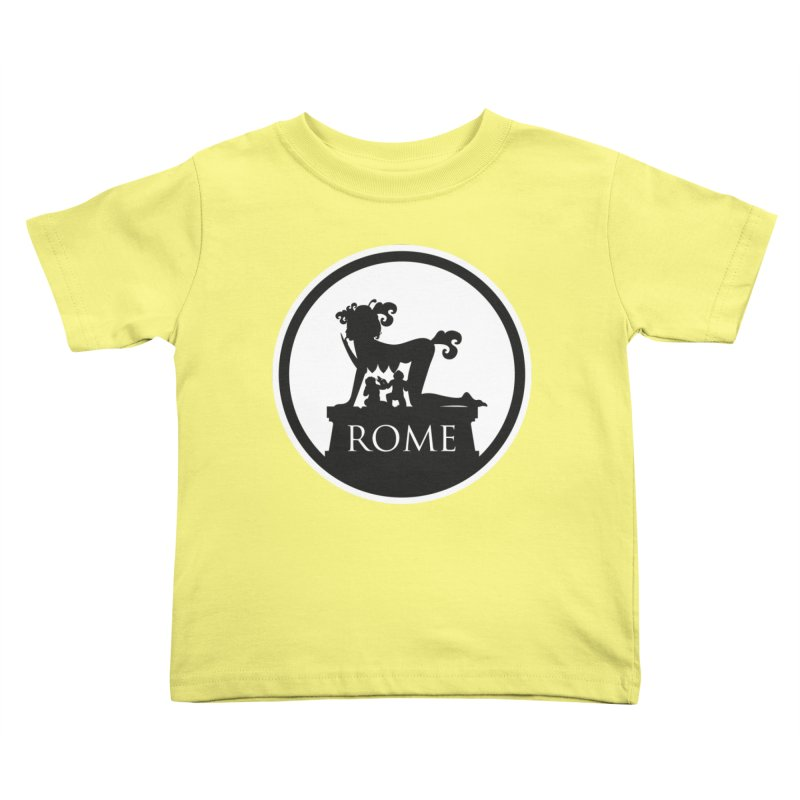 Mamma Roma Kids Toddler T-Shirt by DolceQ's Artist Shop