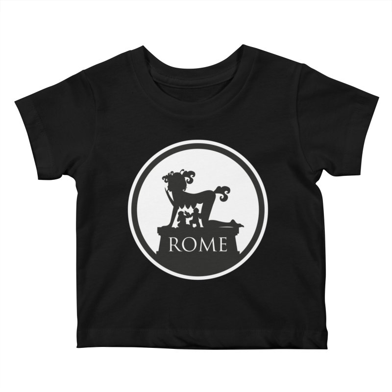 Mamma Roma Kids Baby T-Shirt by DolceQ's Artist Shop