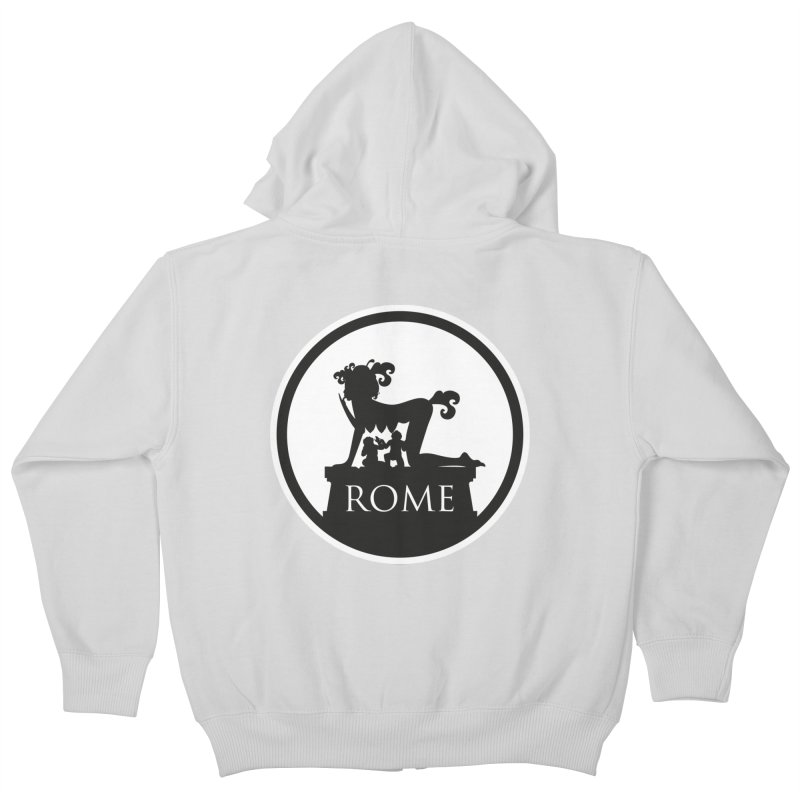 Mamma Roma Kids Zip-Up Hoody by DolceQ's Artist Shop