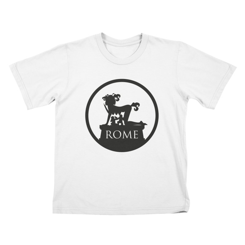 Mamma Roma Kids T-Shirt by DolceQ's Artist Shop