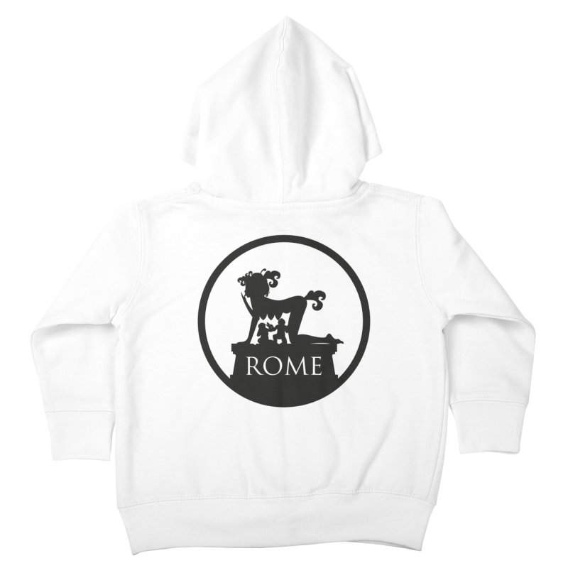 Mamma Roma Kids Toddler Zip-Up Hoody by DolceQ's Artist Shop