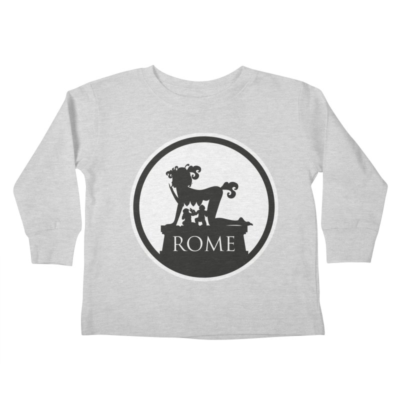 Mamma Roma Kids Toddler Longsleeve T-Shirt by DolceQ's Artist Shop