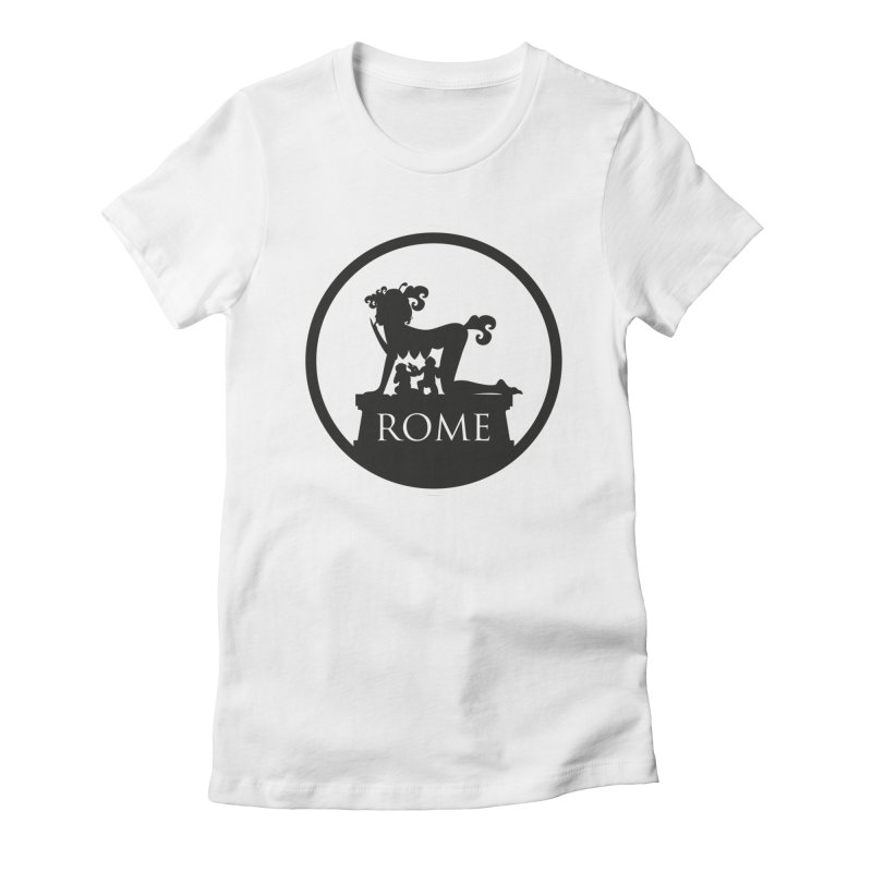Mamma Roma Women's T-Shirt by DolceQ's Artist Shop