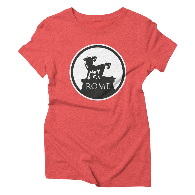 Mamma Roma Women's Triblend T-Shirt by DolceQ's Artist Shop