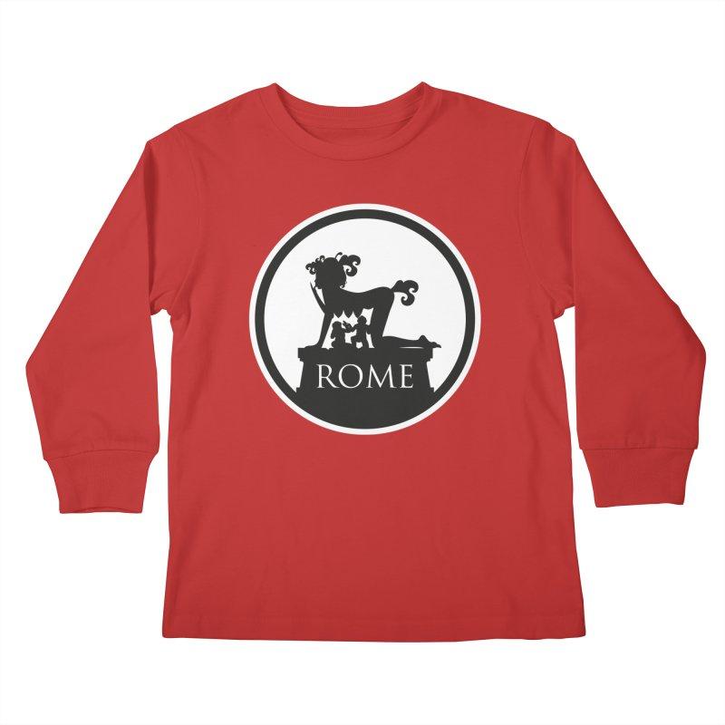 Mamma Roma Kids Longsleeve T-Shirt by DolceQ's Artist Shop