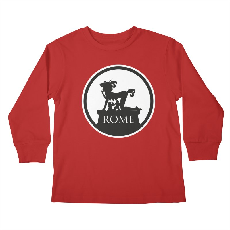 Mamma Roma Kids Longsleeve T-Shirt by DolceQ's Artist Shop