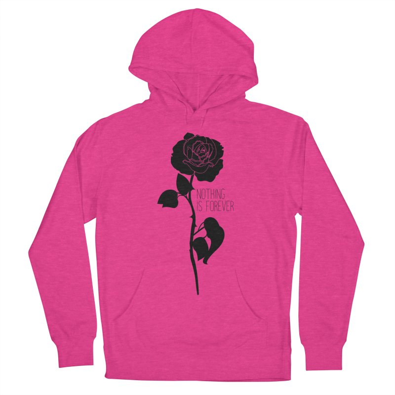 Nothing 4EVR Men's French Terry Pullover Hoody by DolceQ's Artist Shop
