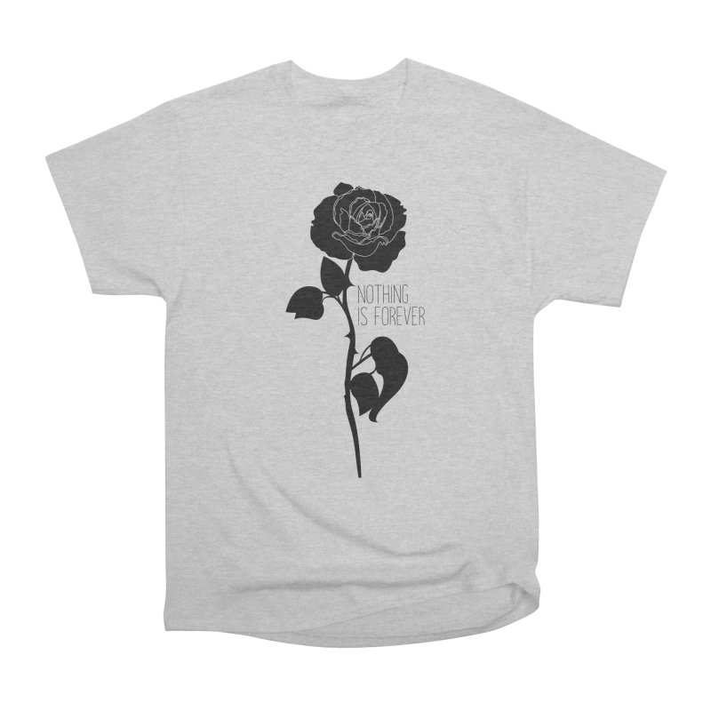 Nothing 4EVR Men's Heavyweight T-Shirt by DolceQ's Artist Shop