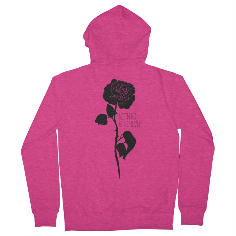 Nothing 4EVR Women's Zip-Up Hoody by DolceQ's Artist Shop