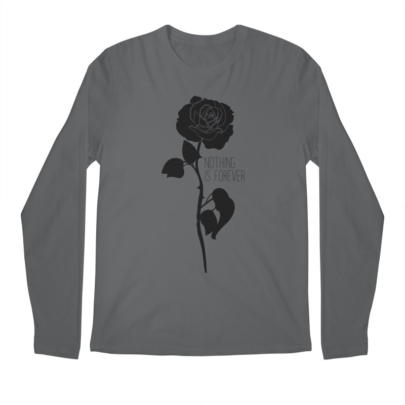 Nothing 4EVR Men's Longsleeve T-Shirt by DolceQ's Artist Shop