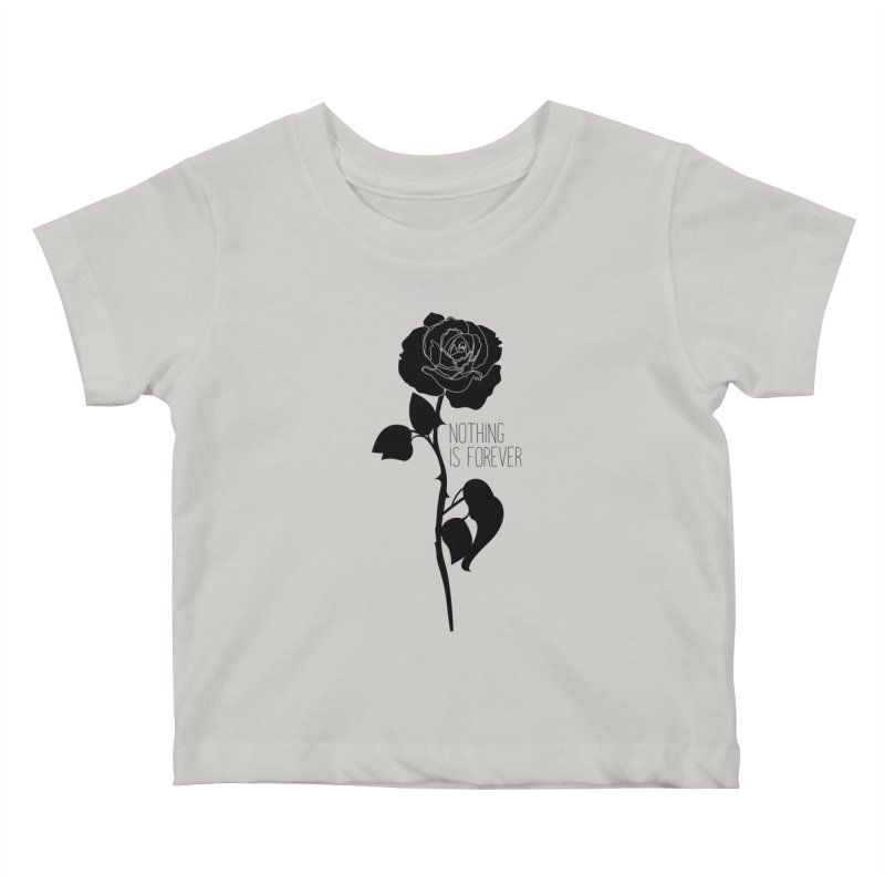 Nothing 4EVR Kids Baby T-Shirt by DolceQ's Artist Shop