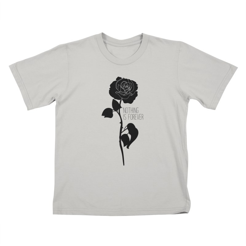 Nothing 4EVR Kids T-Shirt by DolceQ's Artist Shop