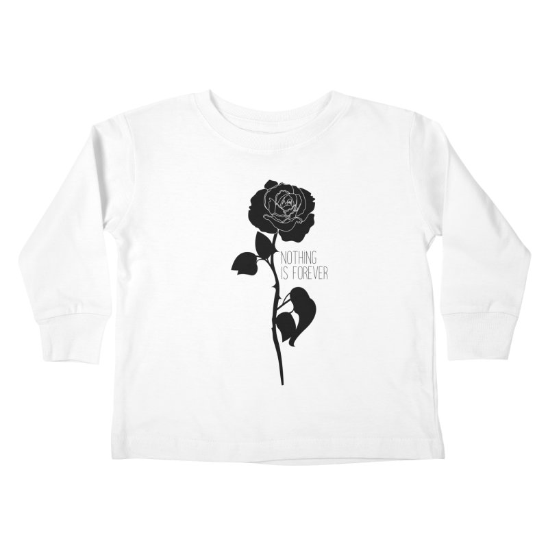 Nothing 4EVR Kids Toddler Longsleeve T-Shirt by DolceQ's Artist Shop