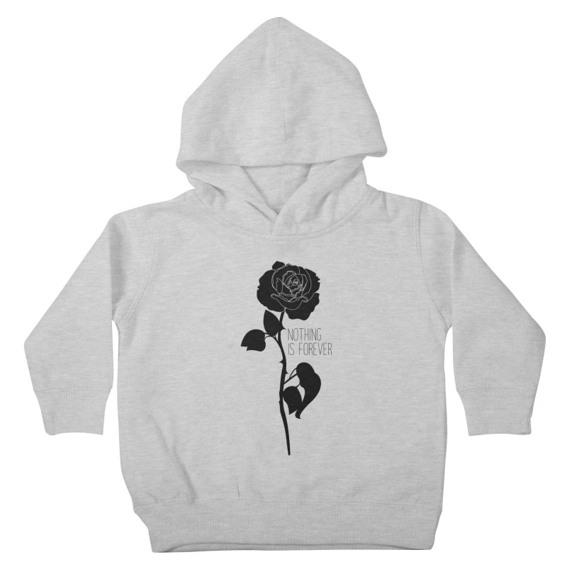 Nothing 4EVR Kids Toddler Pullover Hoody by DolceQ's Artist Shop