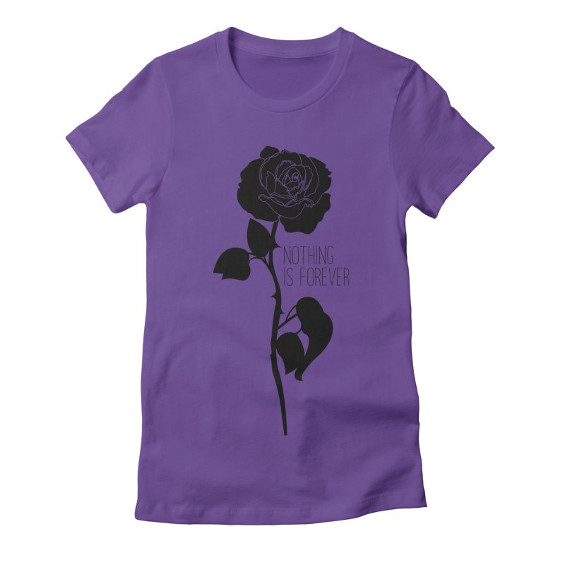 Nothing 4EVR Women's T-Shirt by DolceQ's Artist Shop