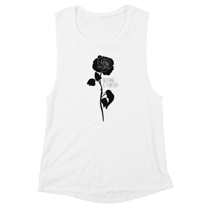 Nothing 4EVR Women's Muscle Tank by DolceQ's Artist Shop