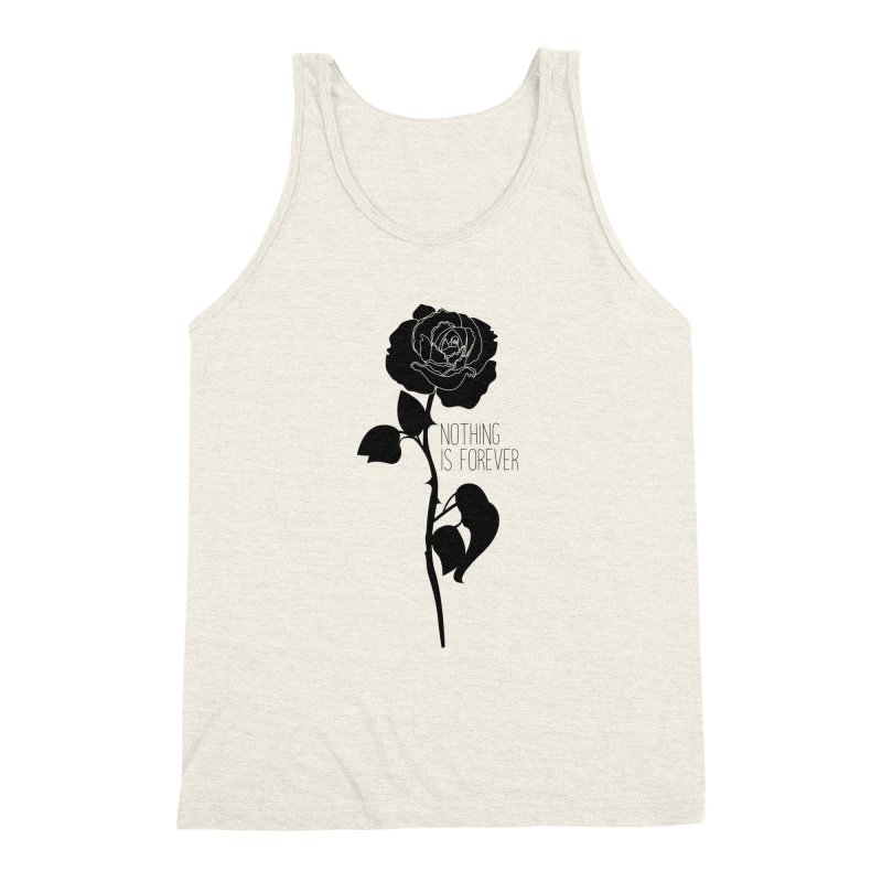 Nothing 4EVR Men's Triblend Tank by DolceQ's Artist Shop
