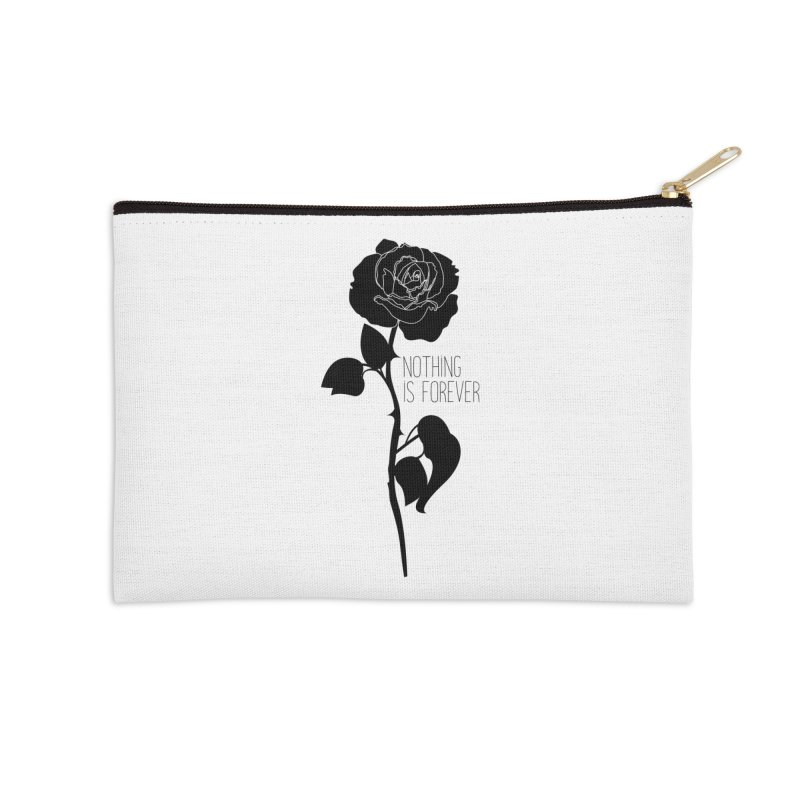 Nothing 4EVR Accessories Zip Pouch by DolceQ's Artist Shop