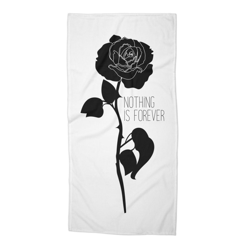 Nothing 4EVR Accessories Beach Towel by DolceQ's Artist Shop