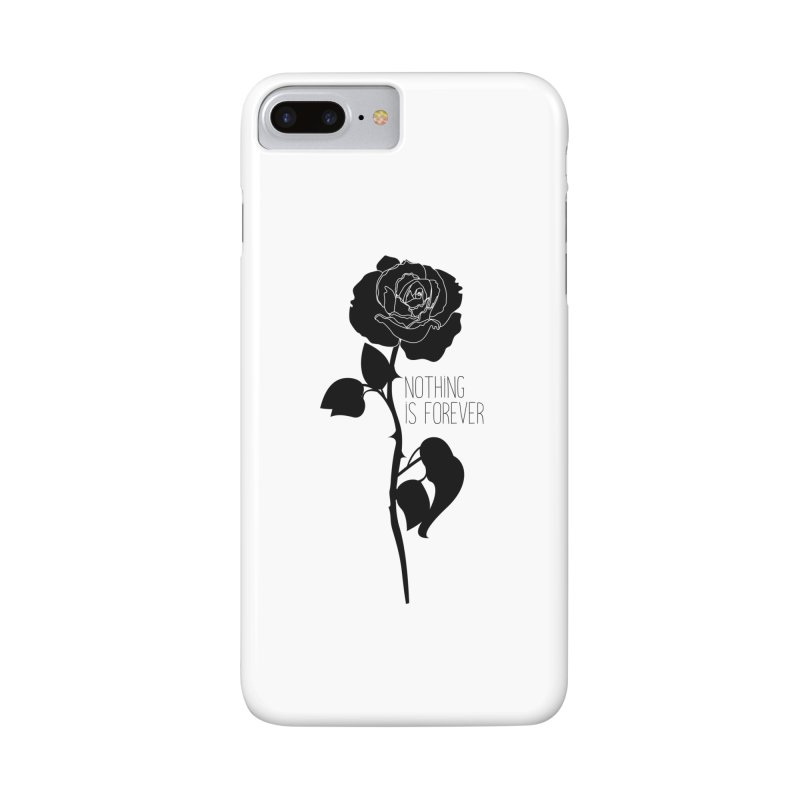 Nothing 4EVR Accessories Phone Case by DolceQ's Artist Shop