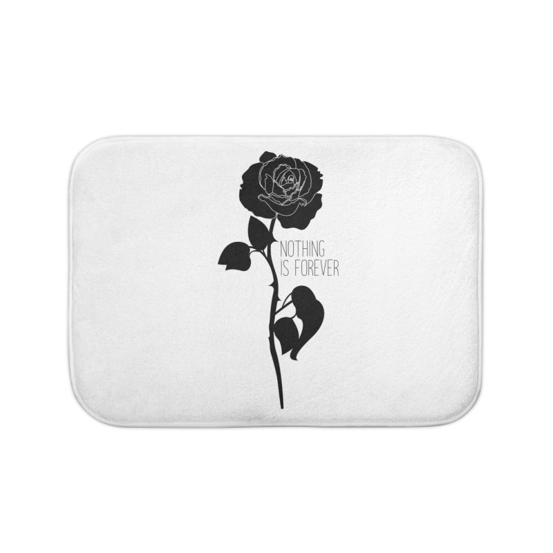 Nothing 4EVR Home Bath Mat by DolceQ's Artist Shop