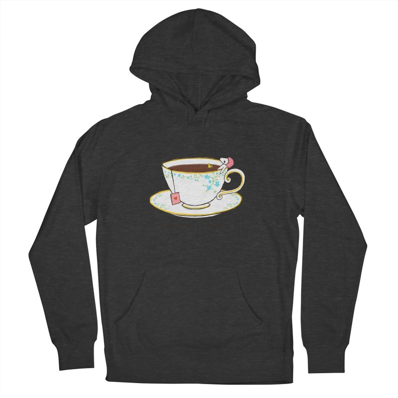 Relax & Enjoy a Cup of Tea Men's Pullover Hoody by Dollgift by Charllotte Ashlie