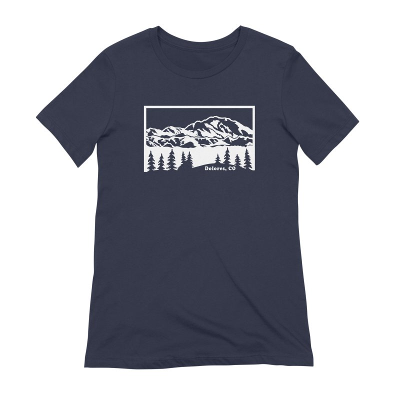 Colorado Mountains Women's Extra Soft T-Shirt by dolores outfitters's Artist Shop