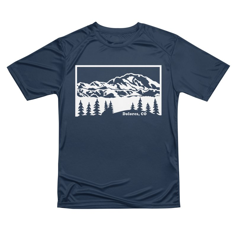 Colorado Mountains Women's Performance Unisex T-Shirt by dolores outfitters's Artist Shop