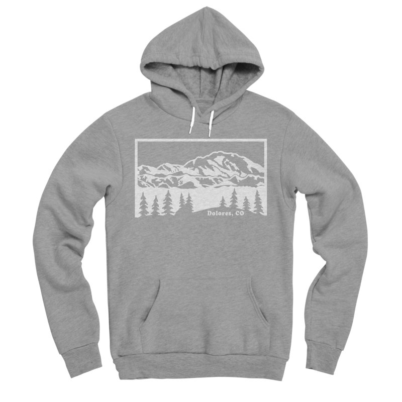 Colorado Mountains Men's Sponge Fleece Pullover Hoody by dolores outfitters's Artist Shop