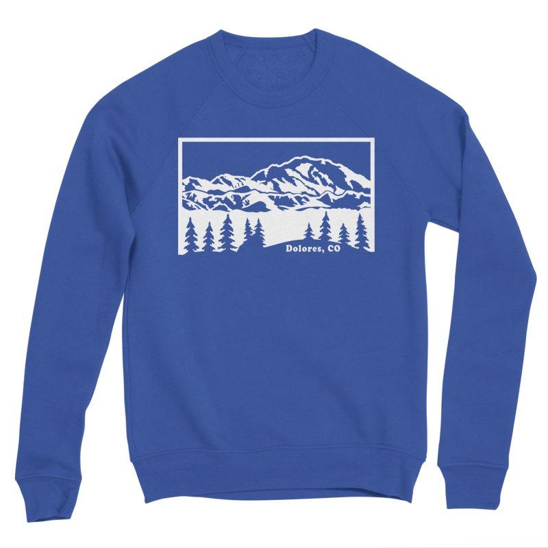 Colorado Mountains Men's Sponge Fleece Sweatshirt by dolores outfitters's Artist Shop
