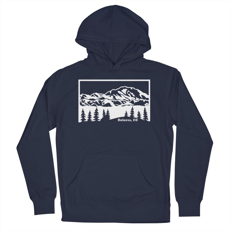 Colorado Mountains Men's Pullover Hoody by dolores outfitters's Artist Shop