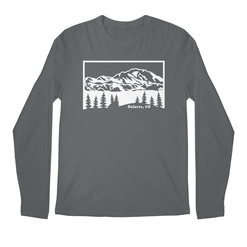 Colorado Mountains Men's Longsleeve T-Shirt by dolores outfitters's Artist Shop