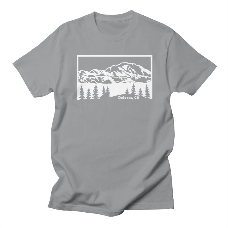 Colorado Mountains Women's Regular Unisex T-Shirt by dolores outfitters's Artist Shop