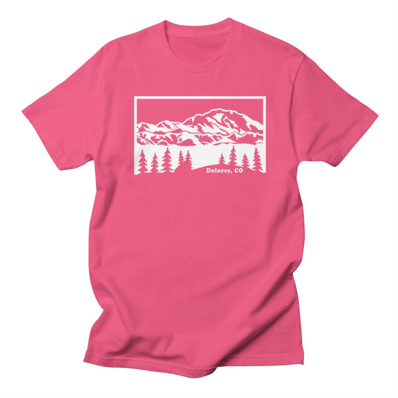 Colorado Mountains Men's Regular T-Shirt by dolores outfitters's Artist Shop