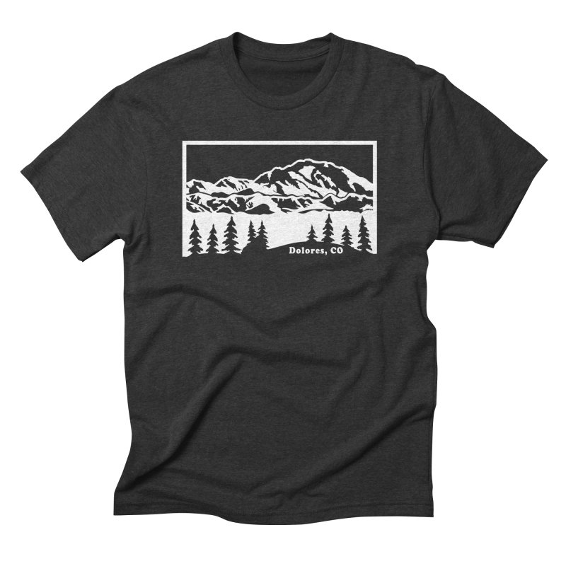 Colorado Mountains Men's Triblend T-Shirt by dolores outfitters's Artist Shop