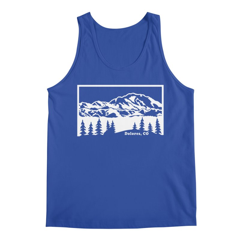 Colorado Mountains Men's Regular Tank by dolores outfitters's Artist Shop