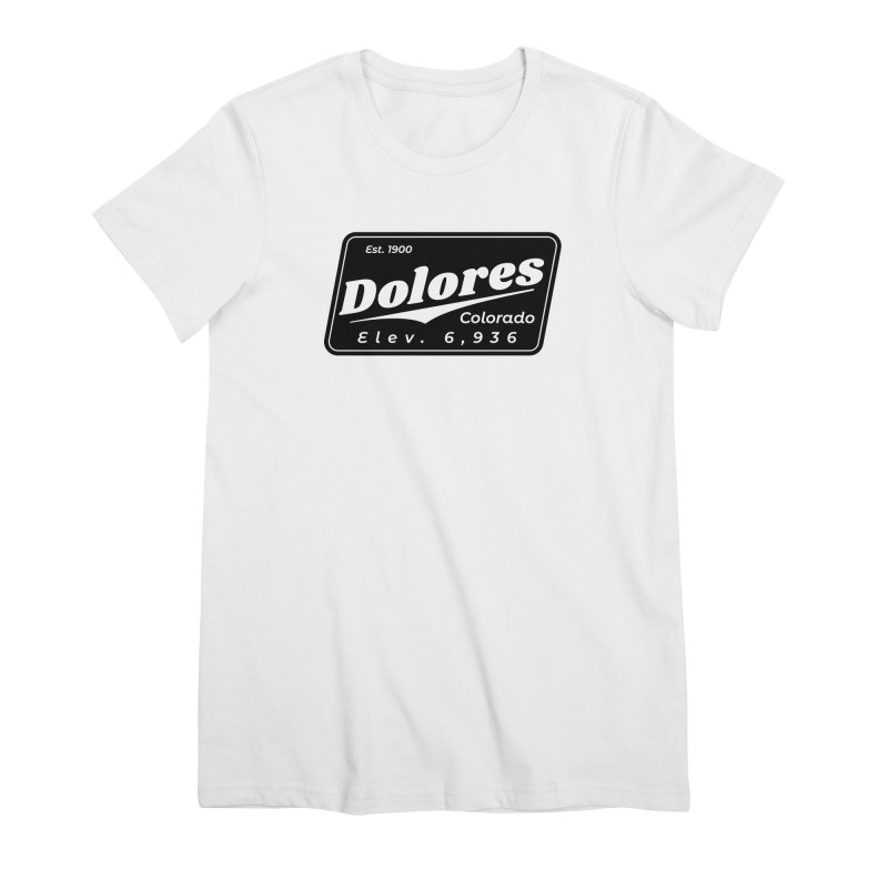 Dolores Beer Women's Premium T-Shirt by dolores outfitters's Artist Shop