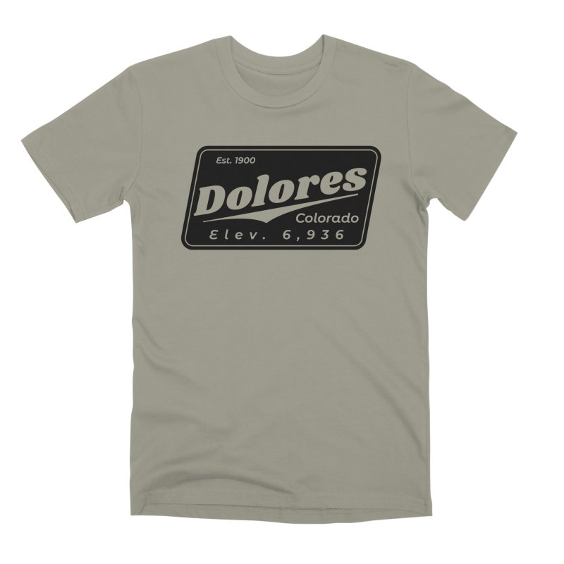 Dolores Beer Men's Premium T-Shirt by dolores outfitters's Artist Shop