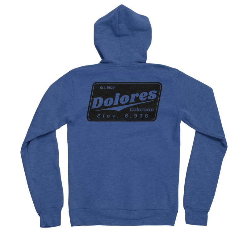 Dolores Beer Women's Sponge Fleece Zip-Up Hoody by dolores outfitters's Artist Shop