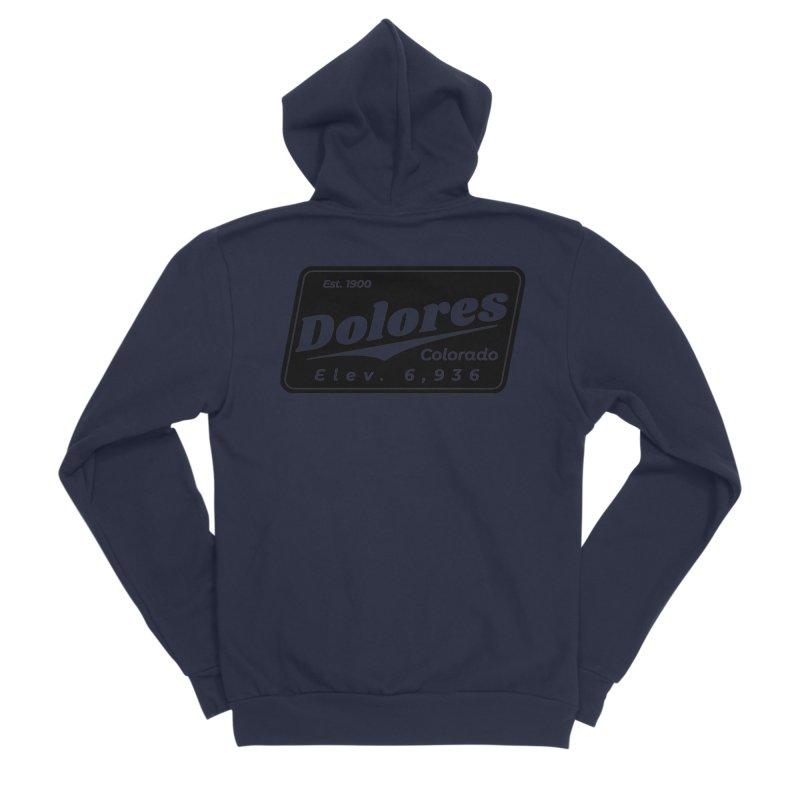 Dolores Beer Men's Sponge Fleece Zip-Up Hoody by dolores outfitters's Artist Shop