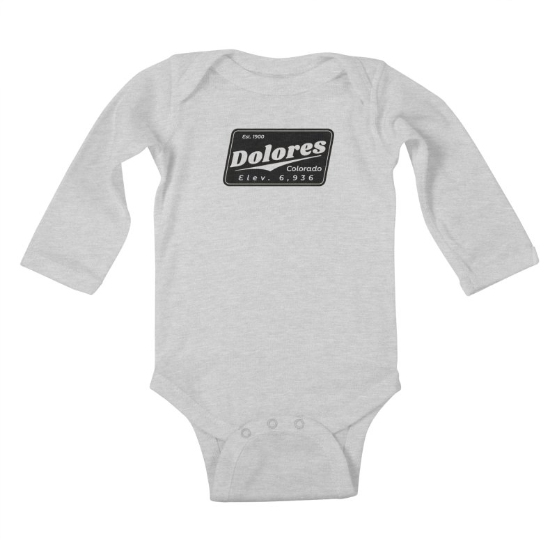 Dolores Beer Kids Baby Longsleeve Bodysuit by dolores outfitters's Artist Shop