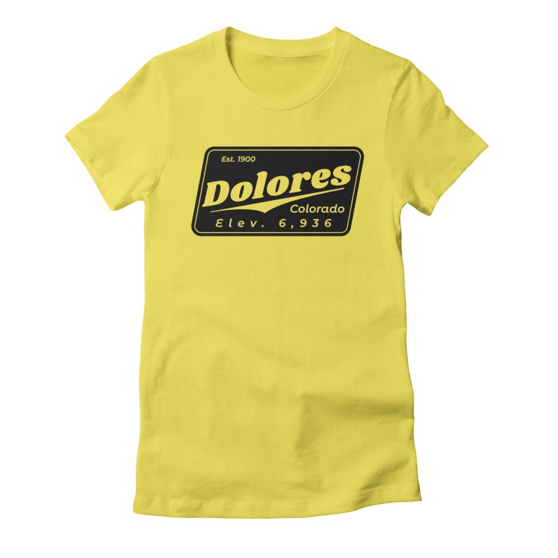 Dolores Beer Women's Fitted T-Shirt by dolores outfitters's Artist Shop