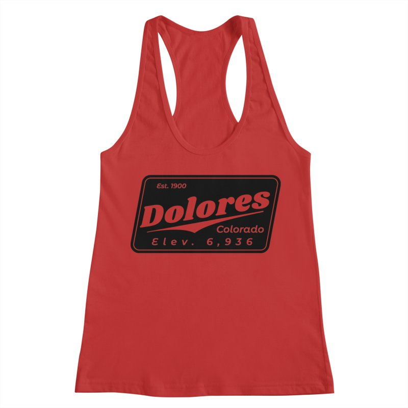 Dolores Beer Women's Racerback Tank by dolores outfitters's Artist Shop