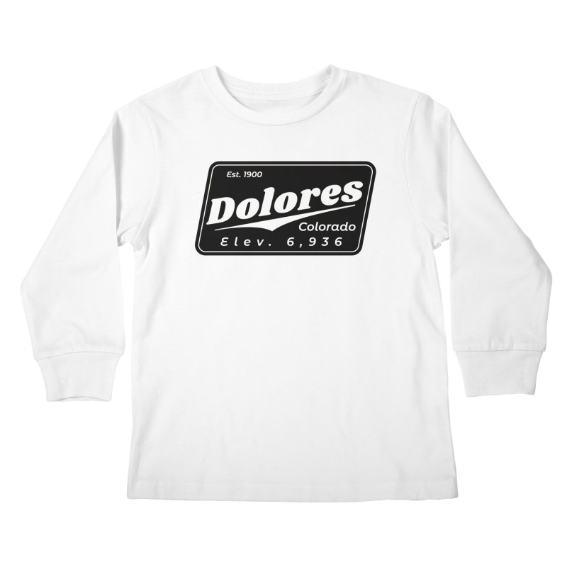Dolores Beer Kids Longsleeve T-Shirt by dolores outfitters's Artist Shop