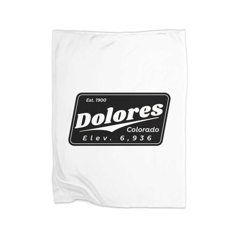 Dolores Beer Home Fleece Blanket Blanket by dolores outfitters's Artist Shop