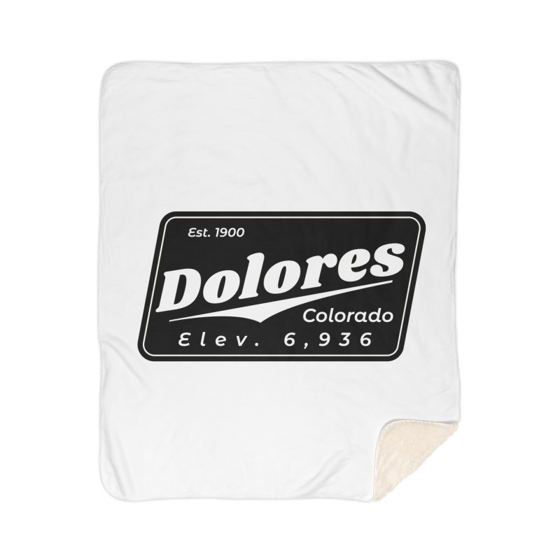 Dolores Beer Home Sherpa Blanket Blanket by dolores outfitters's Artist Shop