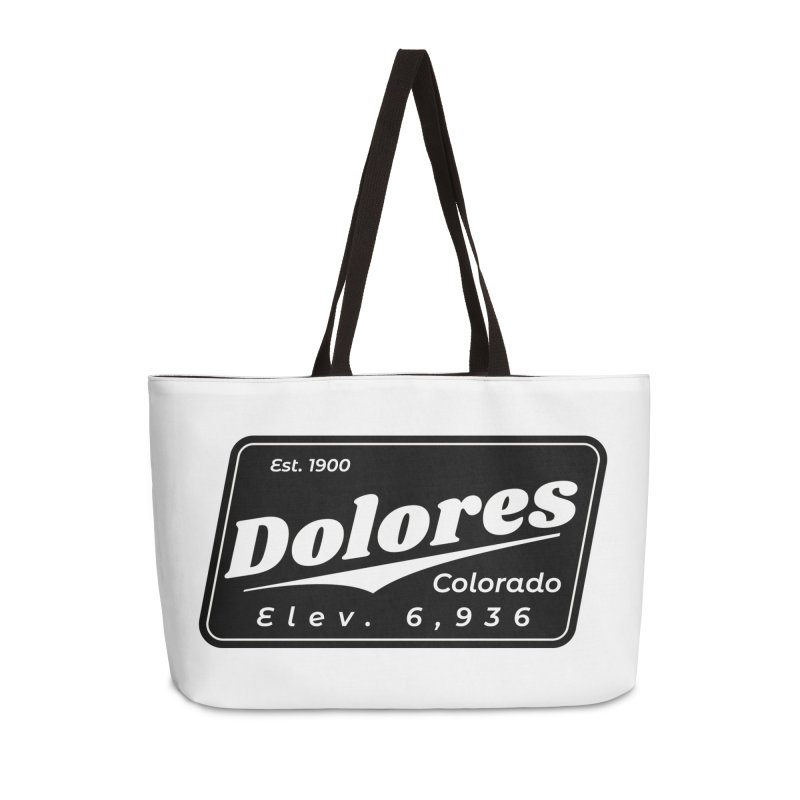 Dolores Beer Accessories Weekender Bag Bag by dolores outfitters's Artist Shop